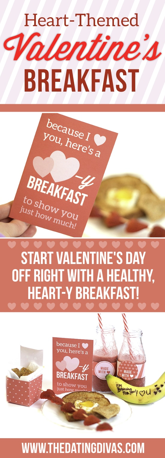 Heart-Themed Valentine's Day Breakfast