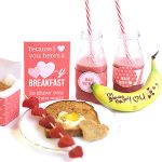 Heart-Themed Valentine's Breakfast