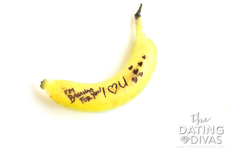 Banana Love Note