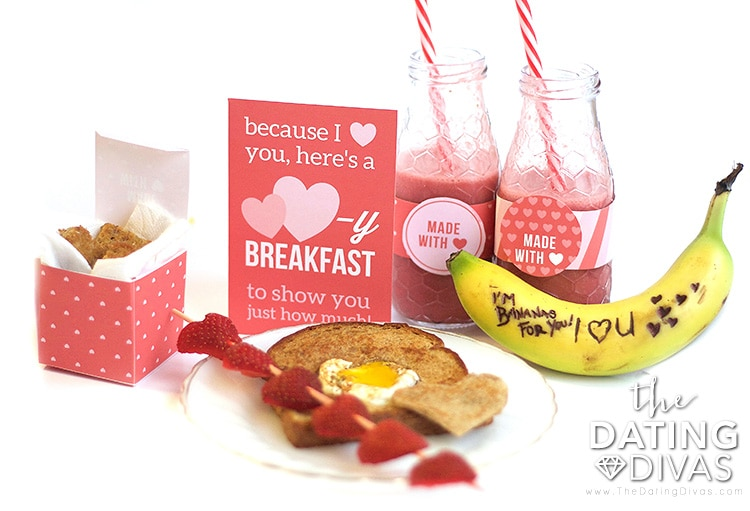 Valentine's Day Breakfast Set