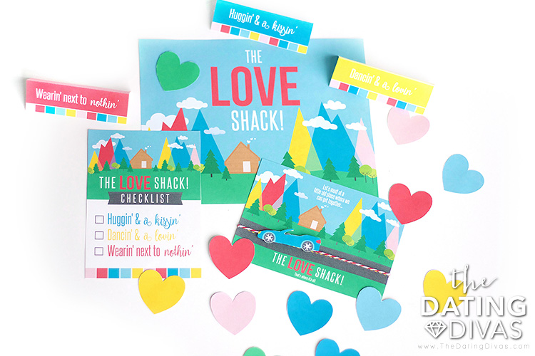 The Love Shack Date Night Printables