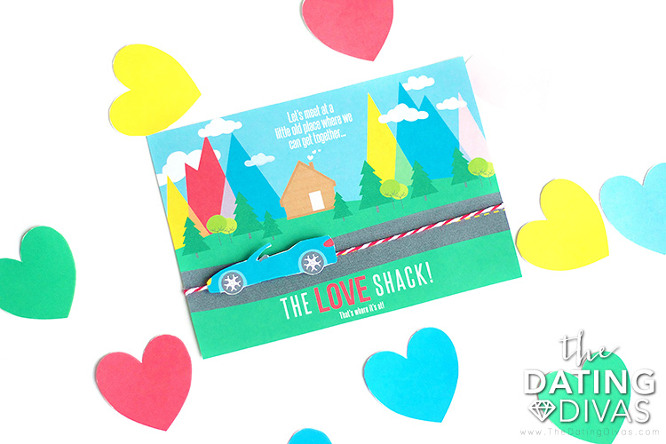 The Love Shack Date Night Invitation
