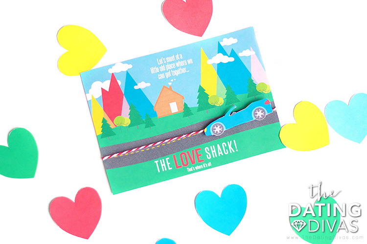 The Love Shack Date Night Invite