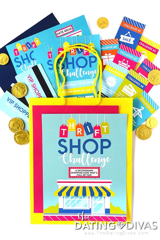 Thrift Store Challenge Date