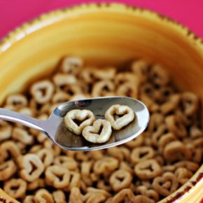 Heart Shaped Cereal