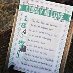 Lucky in Love Printable