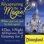 Win A Disneyland Trip for Two!