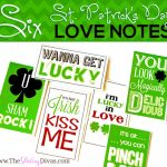 Six St. Patrick's Day Love Notes