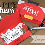 To Our Mr. Fix-It on Father's Day!
