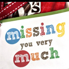 Missing you very much - a Long Distance relationship printable gift.
