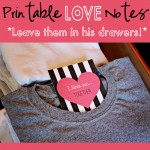 Printable Drawer Notes