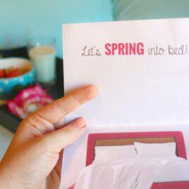 Sexy Spring Card