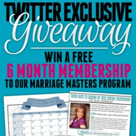 Marriage Masters Giveaway