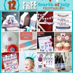 12 FREE Printables For The 4th of July