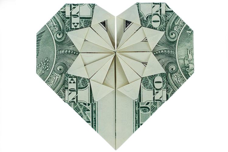 Make an Origami Heart