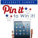 Celebrate Summer – iPad Mini Giveaway