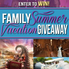 Family Summer Vacation Giveaway