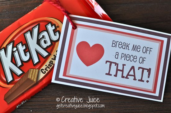 Kit Kat Love Note