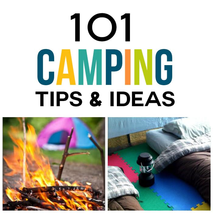 Camping Recipes And Cooking Tips: 101 Camping Tips & Ideas