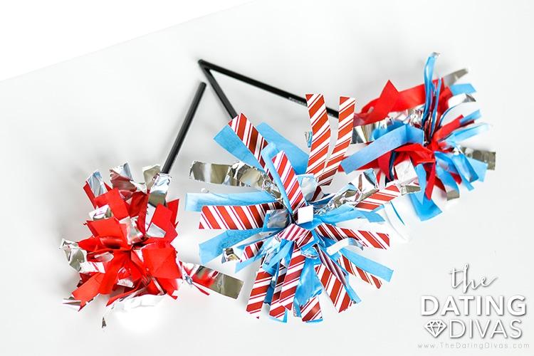 Fourth of July DIY Sparklers