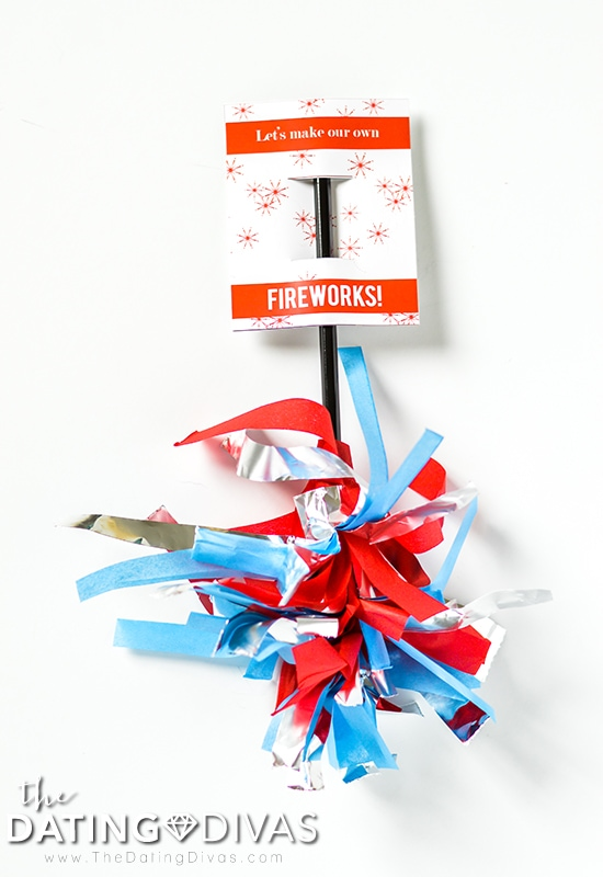 Fourth of July Sparkler Tag