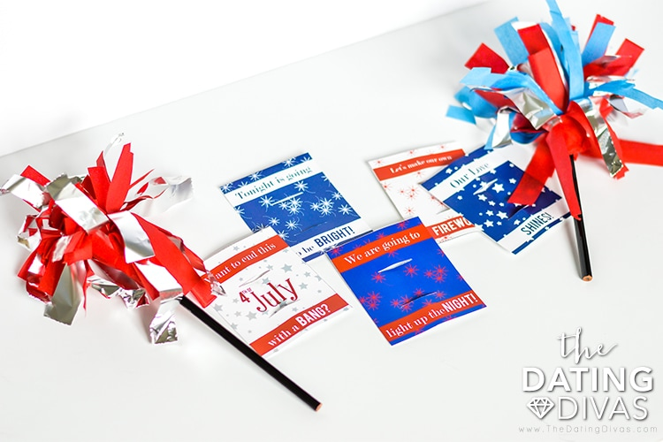 Red, White and You Sparkler Notes