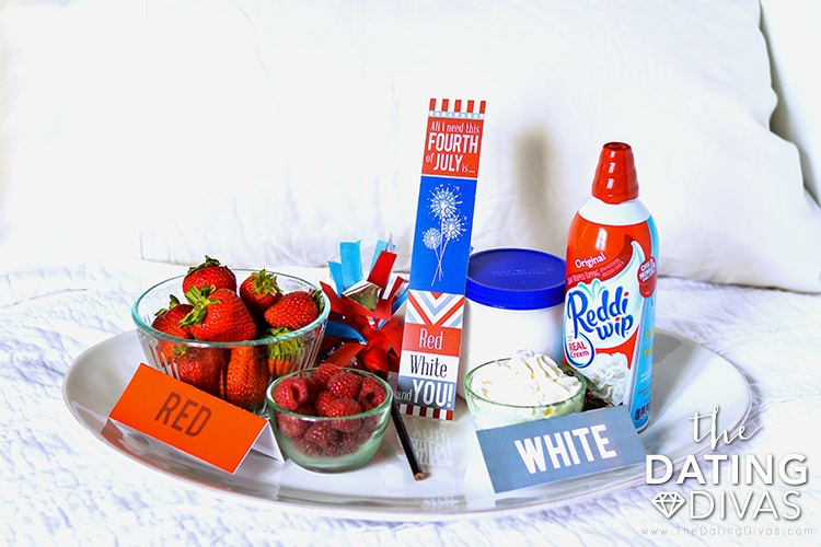 Red, White and You Tray of Treats