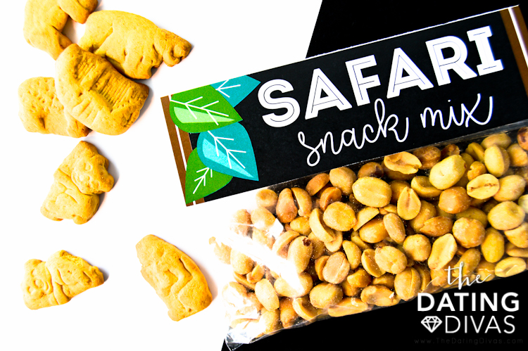 Safari Theme Snack Mix