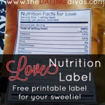 Love Nutrition Label