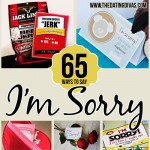 "65 Ways to Say ""I'm Sorry"""