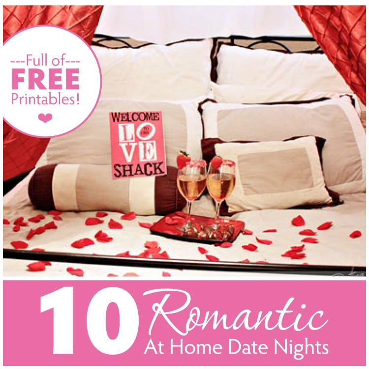Romantic anniversary ideas at home