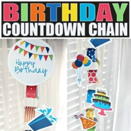 Birthday Countdown Chain