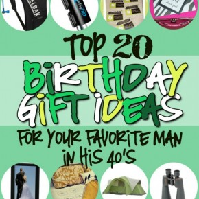 Birthday Gift Ideas for Him in His 40s