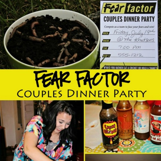 fear factor couples game night - Halloween Fear Factor Games