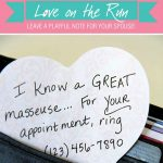 "Send Him a Flirty ""I Love You"" Note!"