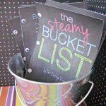 A Steamy Bucket List