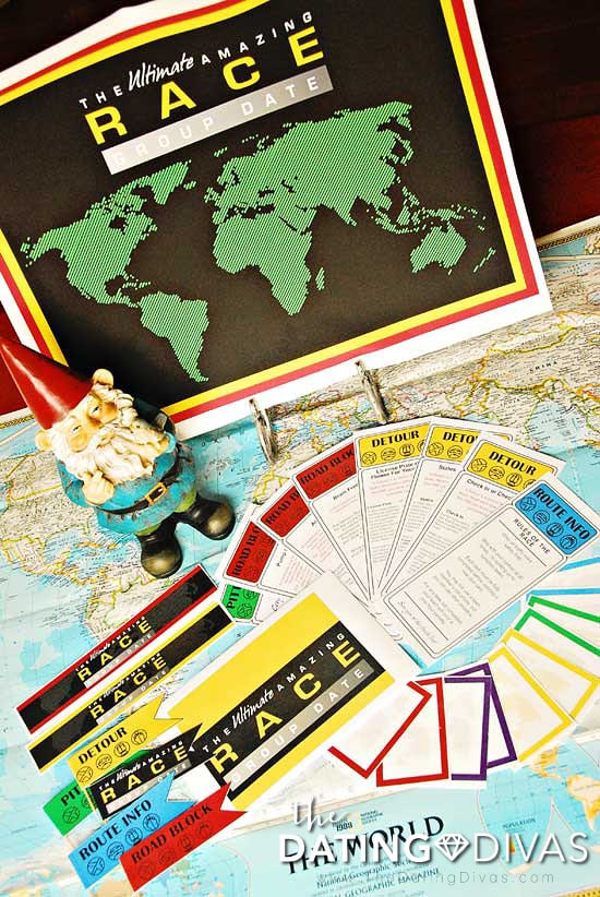 DIY Amazing Race Party Ideas