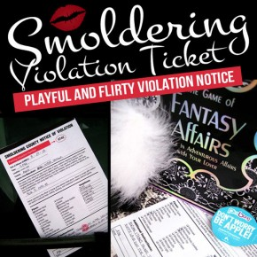 Smoldering Violation Ticket Printable