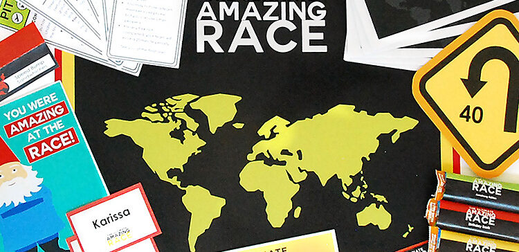 The Amazing Race Game