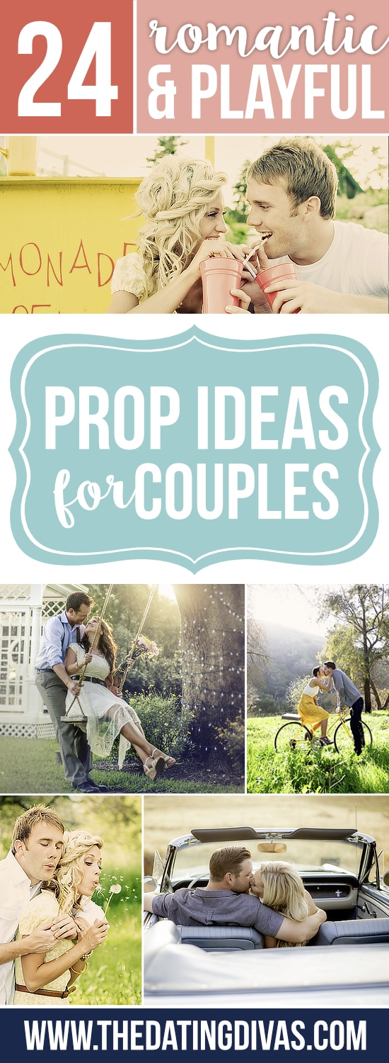 Fun Prop Ideas for Cute Couple Pictures