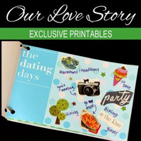 Our Love Story Printable Book
