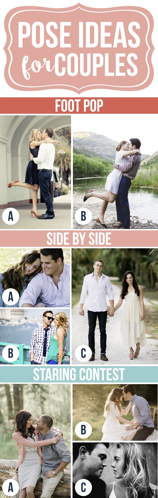 Gorgeous Pose Ideas for Couples