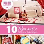 10 Romantic At Home Dates