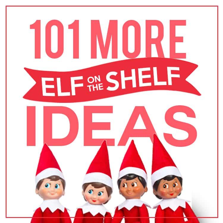 Creative Elf on the Shelf Ideas