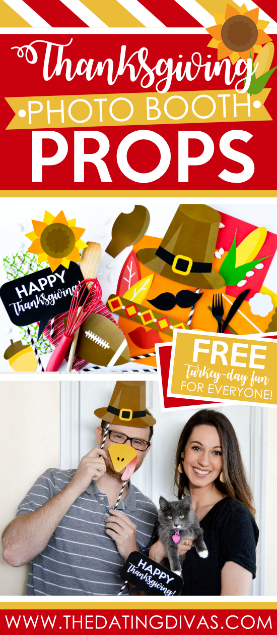 FREE Thanksgiving Photo Booth Props that are to-die-for adorable!!! #thedatingdivas #thanksgivingphotoboothprops #photoprops #thanksgivingphotobooth