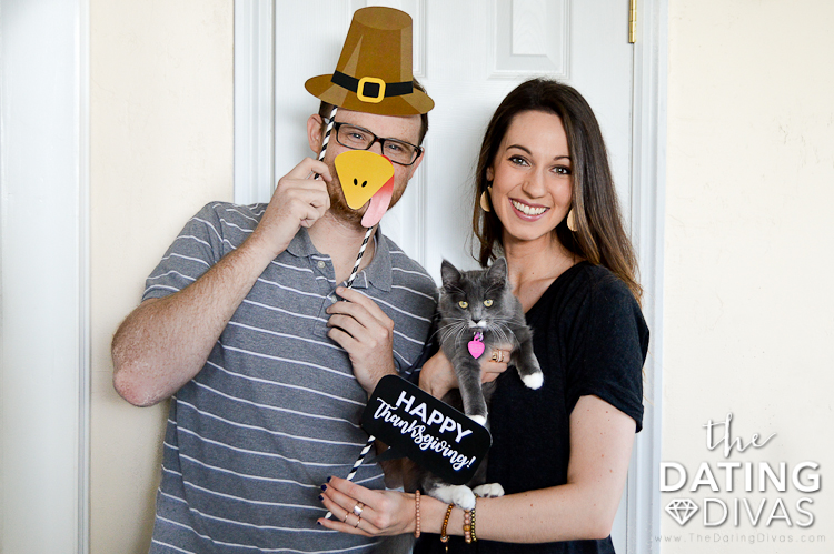 Thanksgiving Photo Booth Props for Families