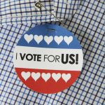 """Election Love: A Free Printable – """"Voting for US!"""""""