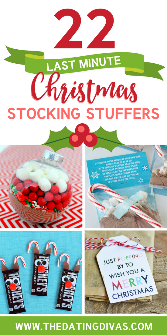 Last Minute Stocking Stuffers #lastminutechristmasgifts #lastminutegiftidea
