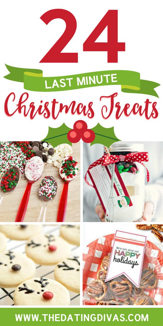 Last Minute Christmas Treats #lastminutechristmasgifts #lastminutegiftidea