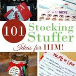 101 Stocking Stuffers for HIM